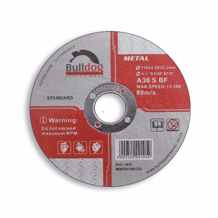 HB Body Bulldog Steel Cutting Disc 115mm X 2.5mm