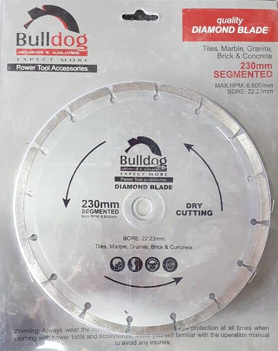 HB Body Bulldog Diamond Blade 230mm Segmented