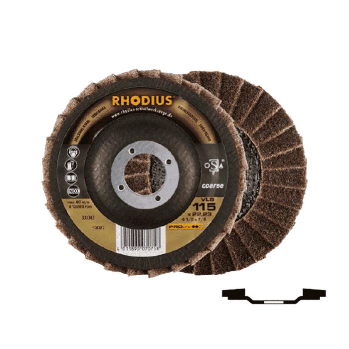 HB Body Rhodius Non-Woven Flapper Disc 115mm Coarse