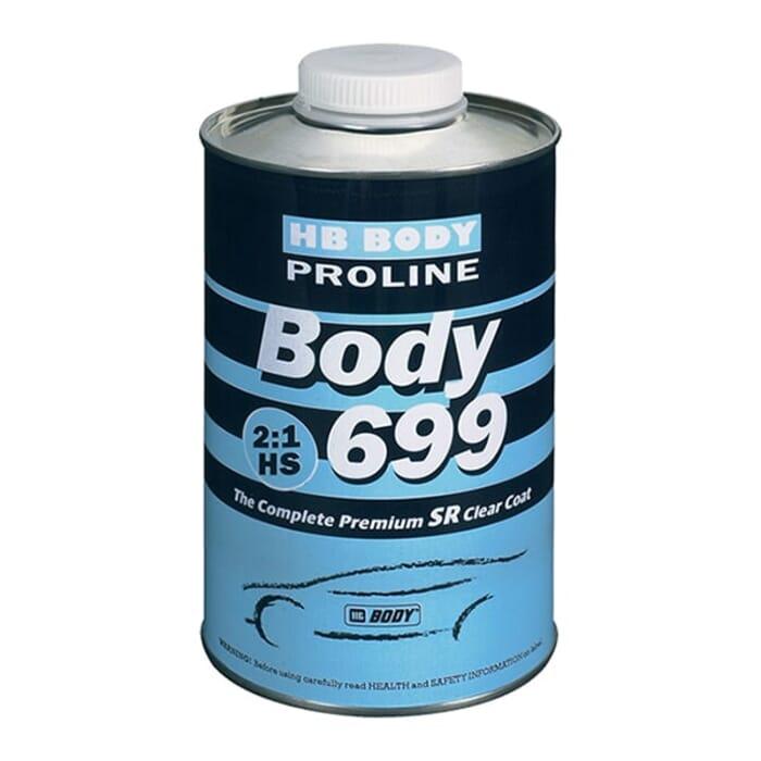 HB Body HB Clear Coat 699 HS 2:1 500ml