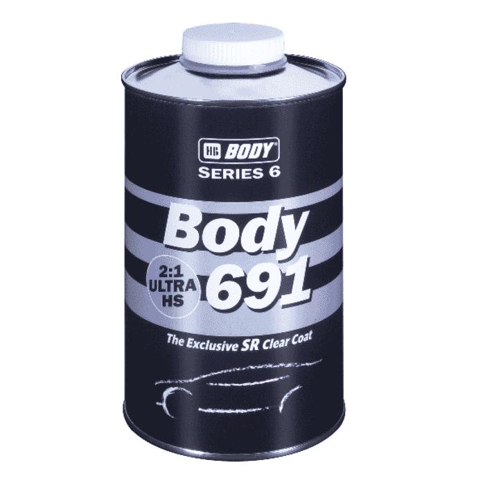 HB Body HB Clear Coat 691 HS 2:1 Ultra 1lt