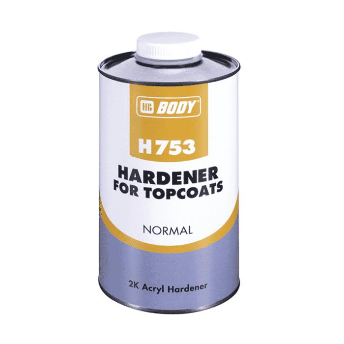 HB Body HB Hardener 753 Normal 1lt