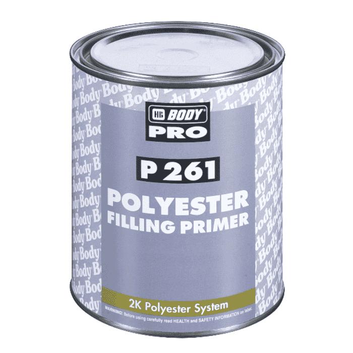 HB Body HB Primer P261 Polyester Filler 1lt