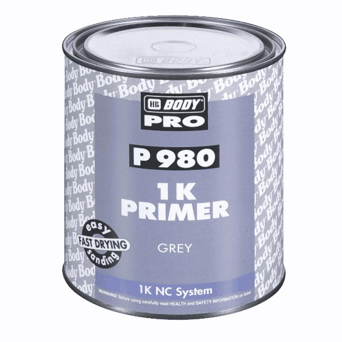 HB Body HB Primer 980 1K Grey 4lt