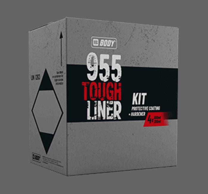 HB Body HB Tough Liner White 4-1 KIT