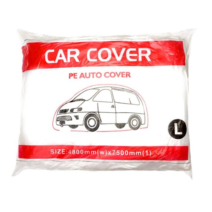 HB Body Bulldog Plastic Car Cover Re-Usable Large