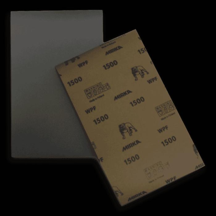 HB Body Mirka Water Paper P1500 Half Sheet (Per Sheet)