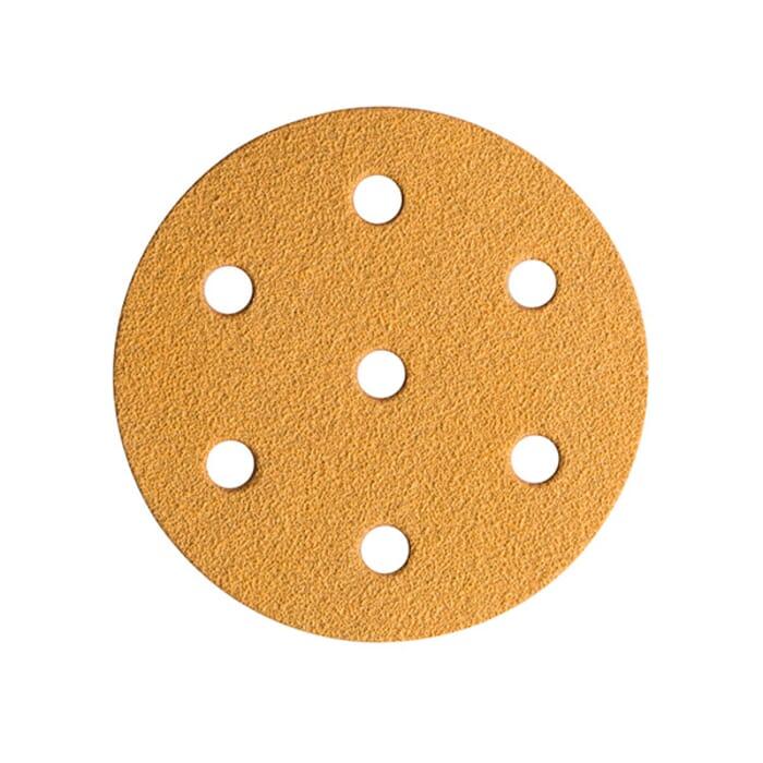 HB Body Mirka Gold Velcro Disc 150mm X P500 6+1 Hole