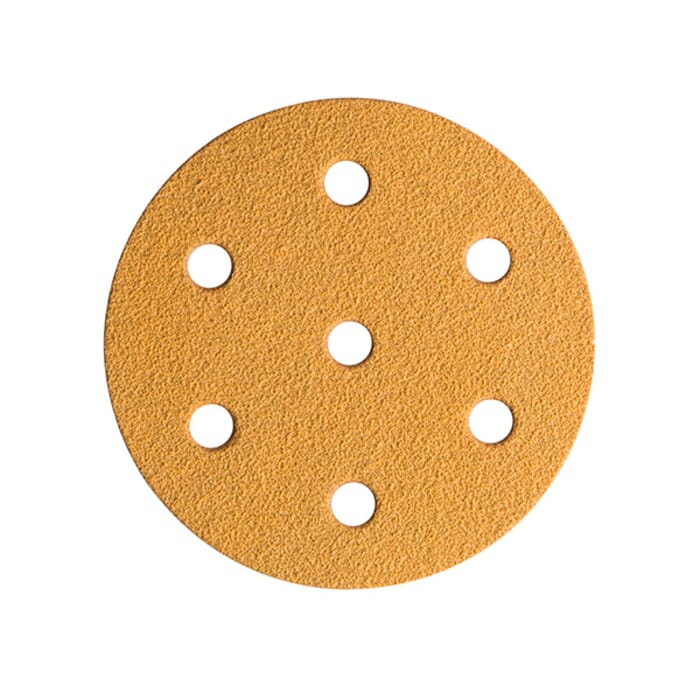 HB Body Mirca Gold Velcro Disc 150mm X P600 6+1 Hole
