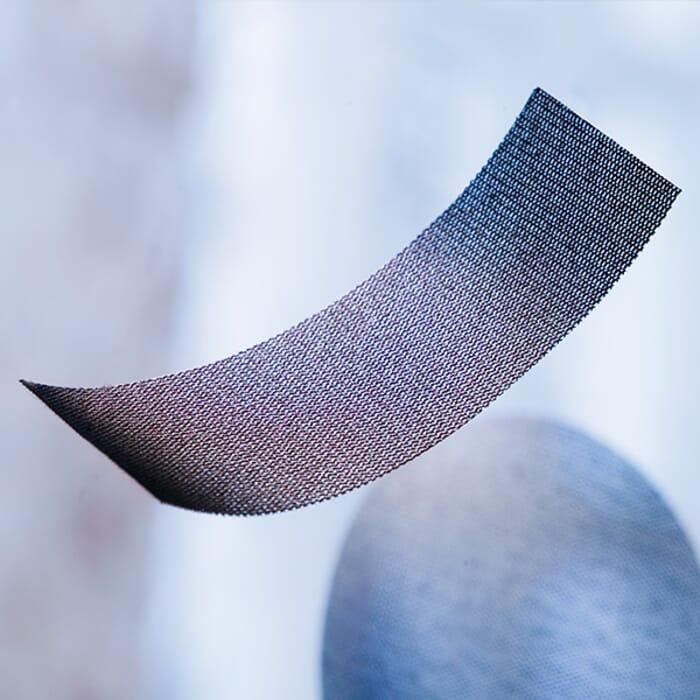 HB Body Mirka Abranet Short Strip 70mm X 198mm P120