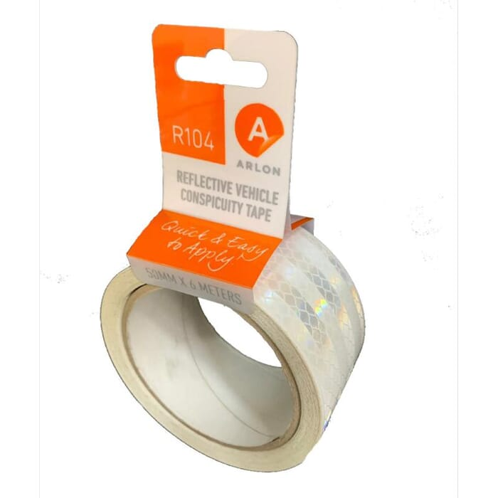 AVERY DENNISON ARLON CONSPICUITY TAPE (6 METERS) - WHITE