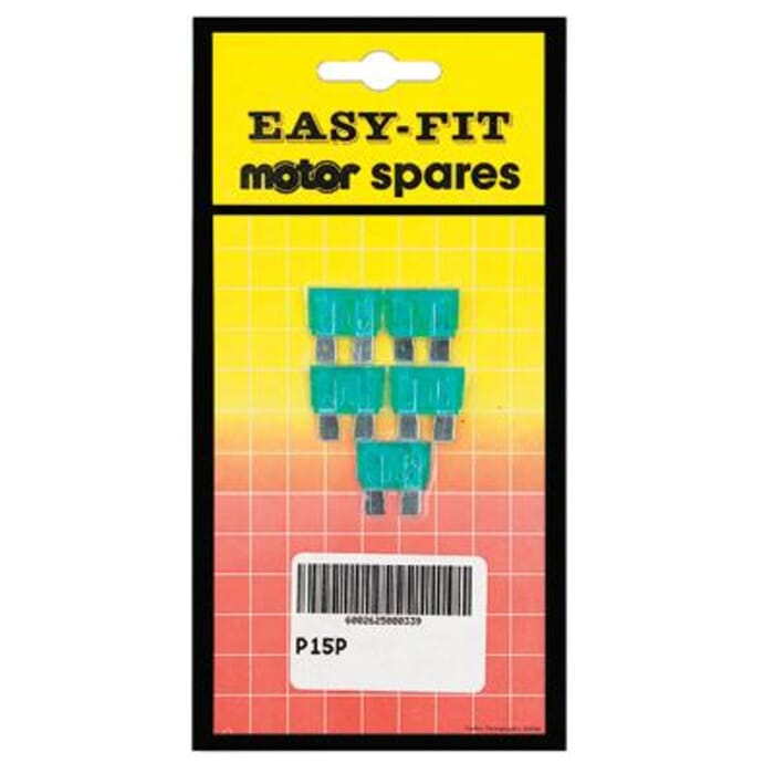 EASYFIT EASY-FIT PREPACKED 20 AMP PLUG-IN FUSES