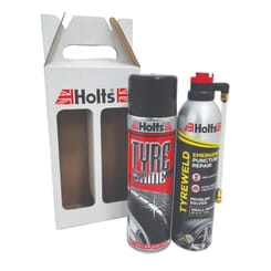 HOLTS TYRE WELD & TYRE SHINE COMBO (HOLTS)