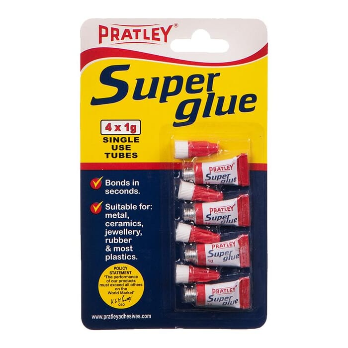 PRATLEY SINGLE USE S/GLUE - P98008 (PRATLEY)