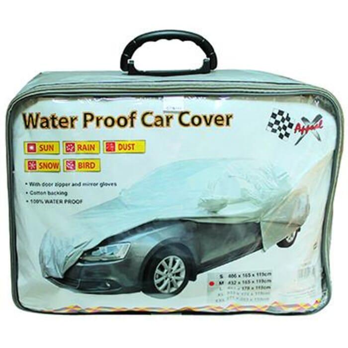 X-APPEAL CAR COVER - WATERPROOF: MEDIUM