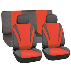 X-APPEAL SEAT COVER (6 PIECE) - RED