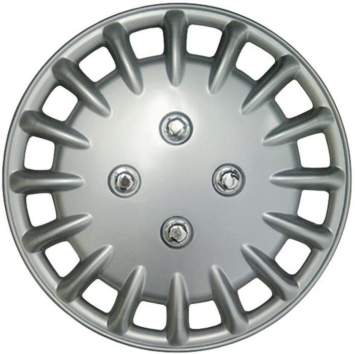 """X-APPEAL WHEEL COVER 13"""" SILVER__ - WC730-13 (X-APPEAL)"""