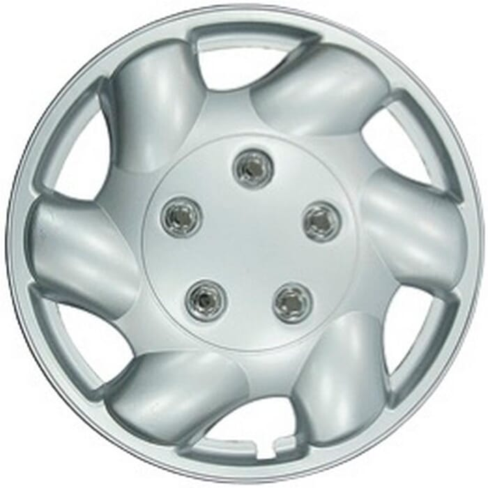 """X-APPEAL WHEEL COVER 13"""" SILVER - WC830-13 (X-APPEAL)"""
