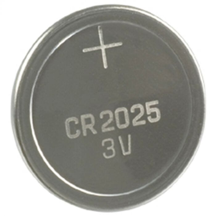 Alphacell Lithium Button Cell Battery – CR2025 – 5Pc
