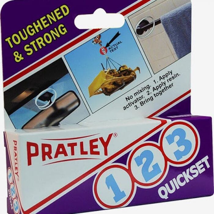 Pratley Adhesive 123 - 15ml