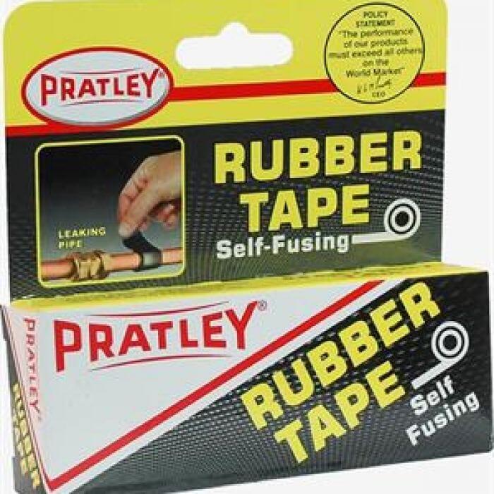 Pratley Rubber Self Fusing Tape - 19mm x 1.6m