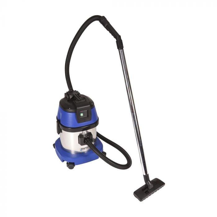 Promop Kingfisher Wet/Dry Vacuum Cleaner 15lt Stainless Steel