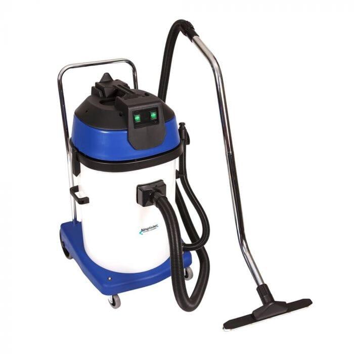 Promop Kingfisher Wet/Dry Vacuum Cleaner 60lt Plastic - Dual motors