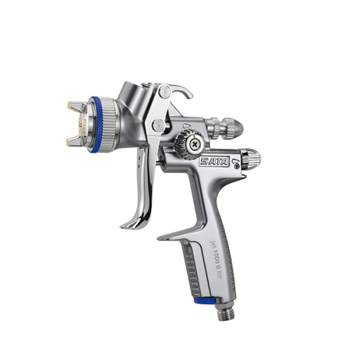 SATA SATA JET 1000 BIC RP Standard Spray gun with 0.6 l QCC reusable PVC gravity flow cup without swivel joint