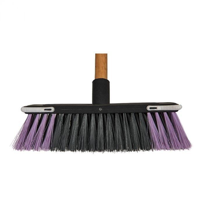 Promop Budget Broom With Screw In Wooden Handle
