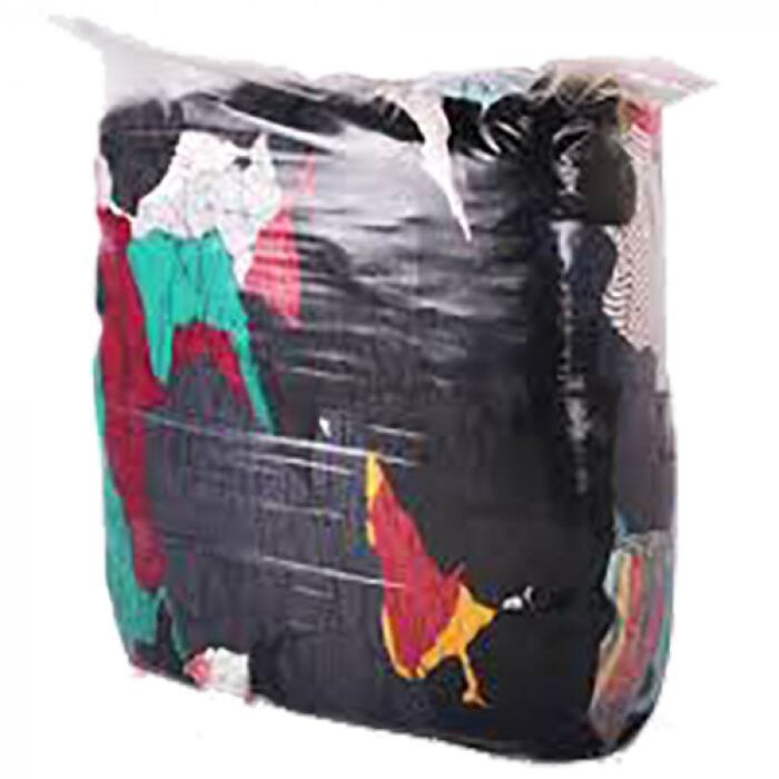 Ace House Brand A-Grade Coloured Rags - 5kg Pack