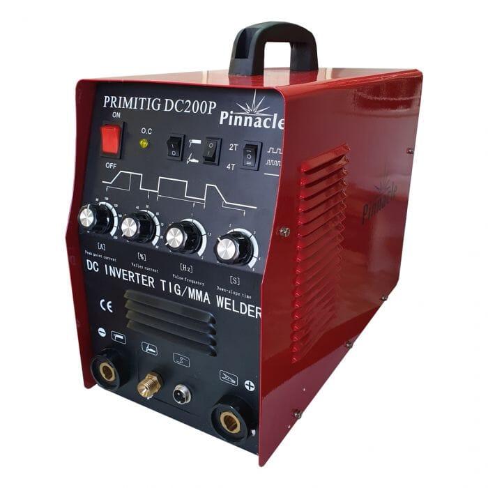 Pinnacle Pinnacle TIG Welding Machine Inverter Welder PrimiTIG DC 200P With Pulse Action