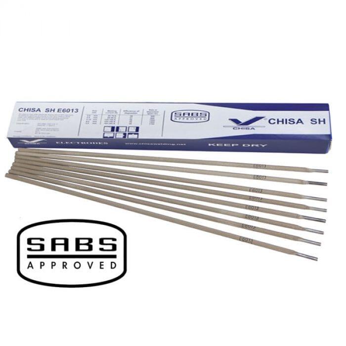 Pinnacle Chisa E6013 Mild Steel Welding Rods 1kg  2.5mm