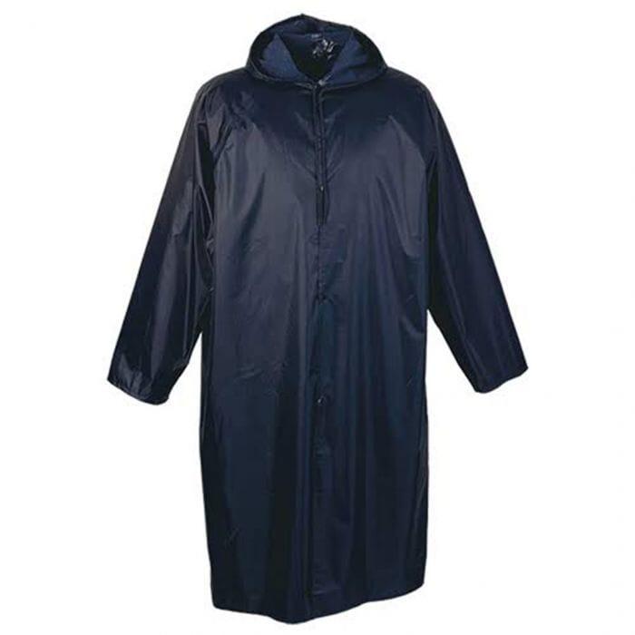 Pinnacle Rubberised Rain Coat Blue Size M - 2XL