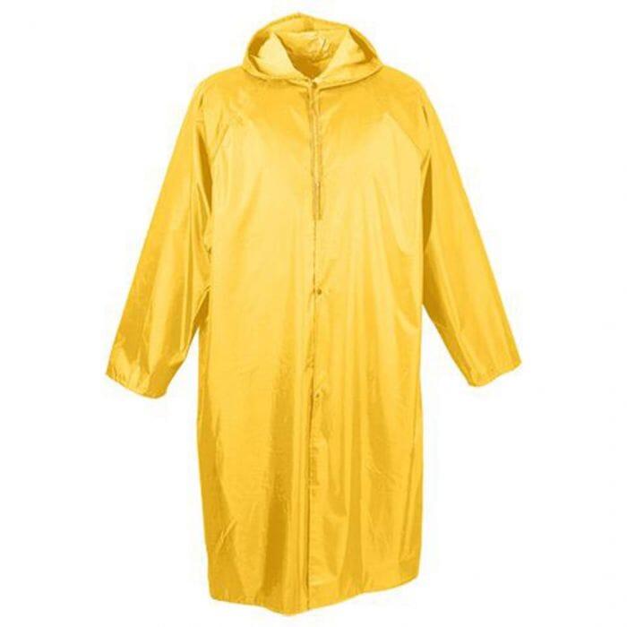 Pinnacle Yellow Rubberised Rain Coat Size M- 2 XL