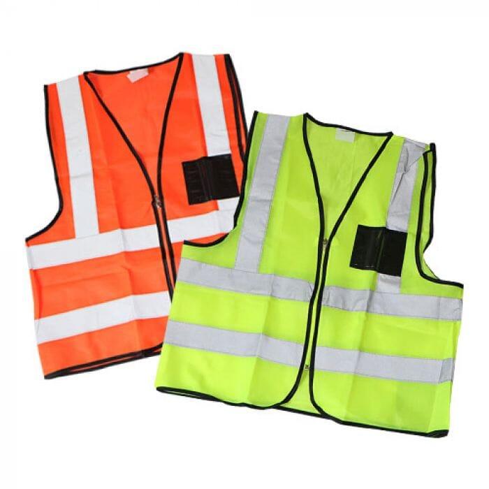 Pinnacle Reflective Safety VestZip and ID Pocket