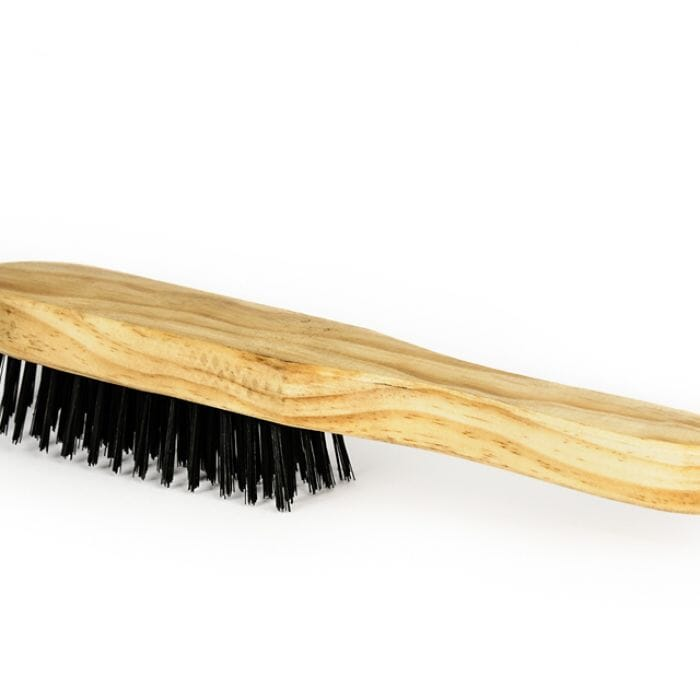 Promop Wire Brazing Brush With Wooden Handle