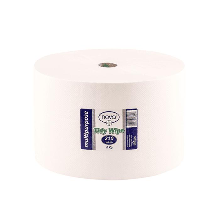 Nova Jumbo Roll (Tidy Wipe) - 210mm x 4kg Roll
