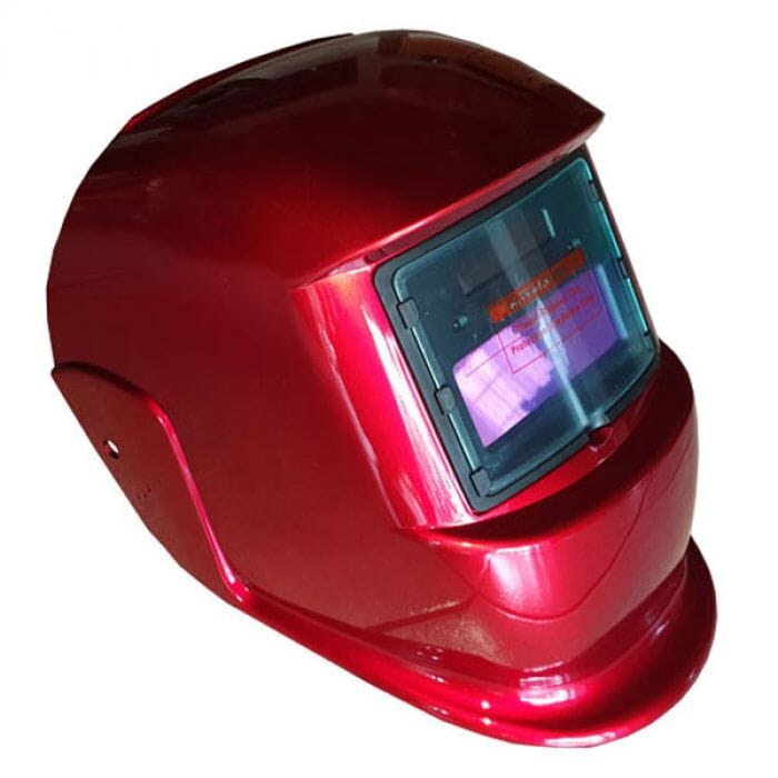 Pinnacle Decasola Auto darkening helmet , non adjustable