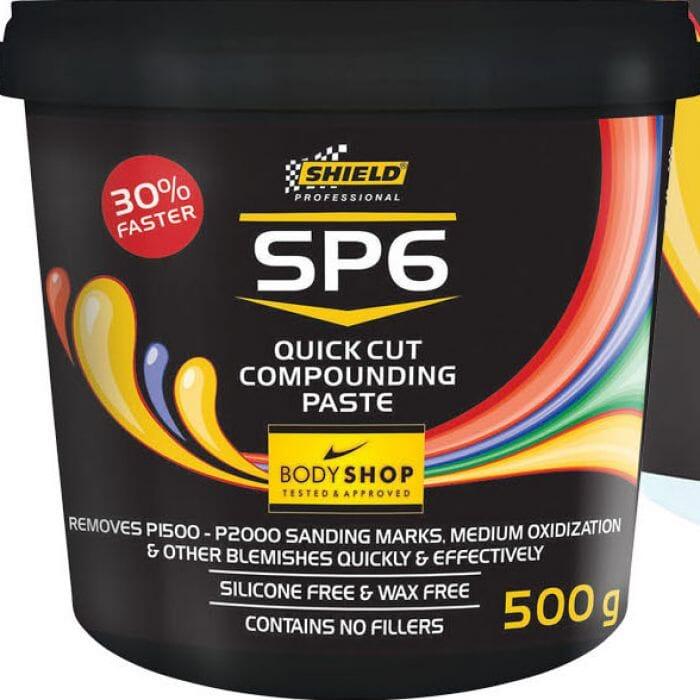 Shield SP6 Quick Cut Compounding Paste 500g