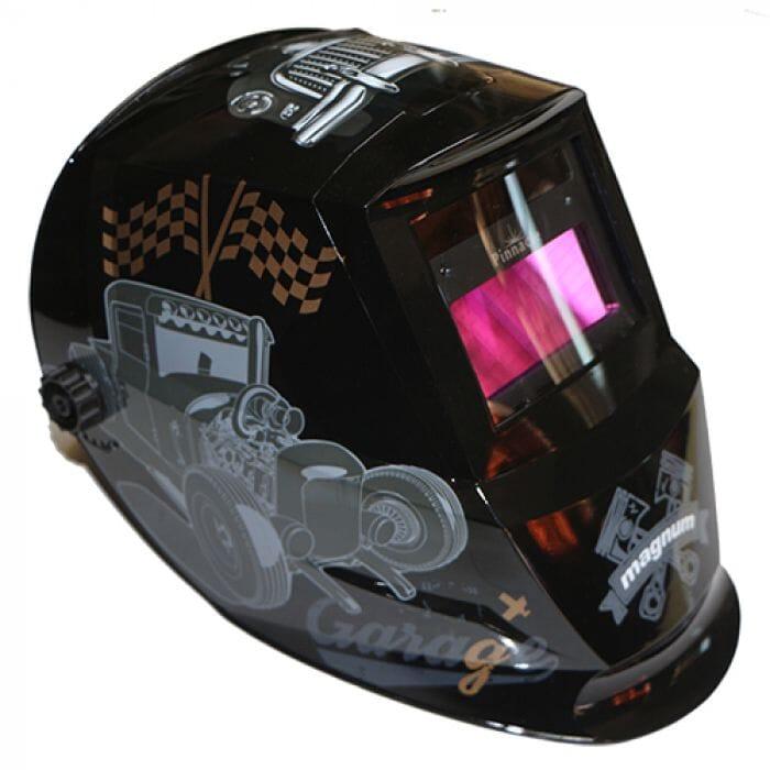 Pinnacle Garage Auto darkening Helmet , Adjustable 9-13 , Limited Edition