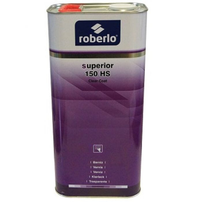 Roberlo Superior 150 HS Clear Coat - 5lt