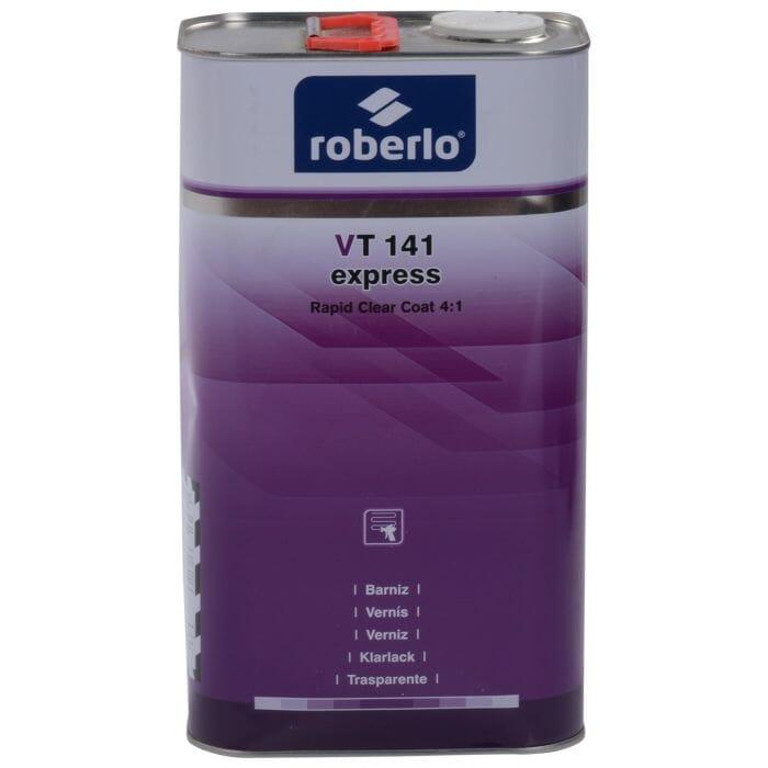 Roberlo VT 141 Express Rapid Clear Coat - 3.78lt