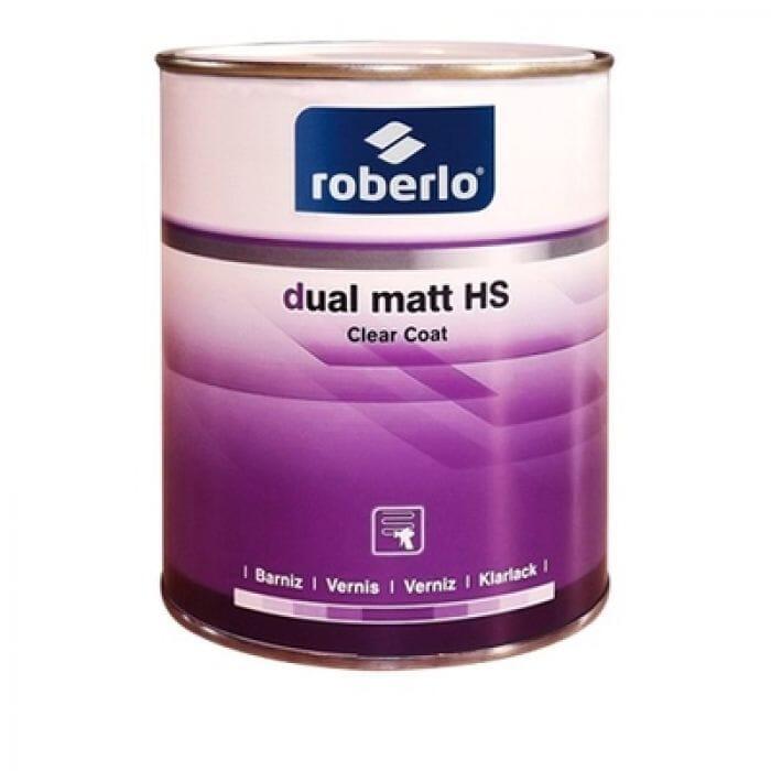 Roberlo Dual Matt HS Clear Coat - 1lt