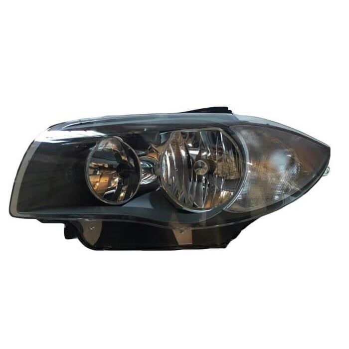 Bmw E87 1 Series Headlight Chrome Inside Left