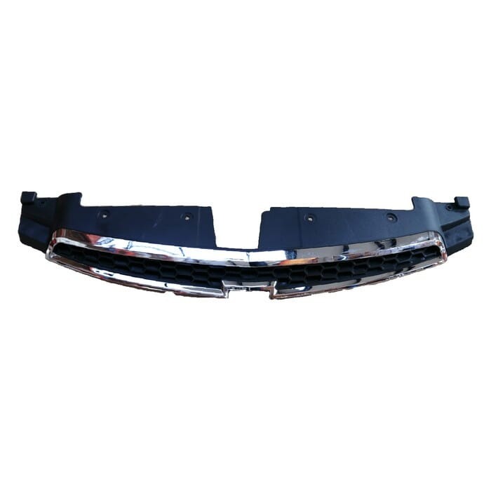 Chevrolet Cruze Upper Grille With Chrome Frame