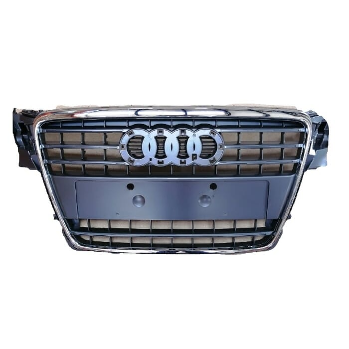 Audi A4 B8 Preface Main Grille With Chrome Frame