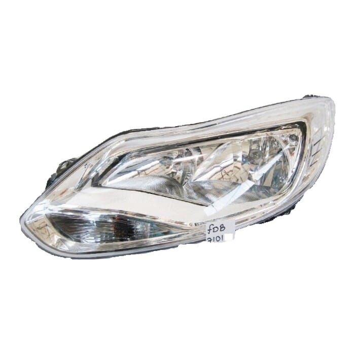 Ford Focus Mk 4 Headlight With Elec Motor Chrome Left