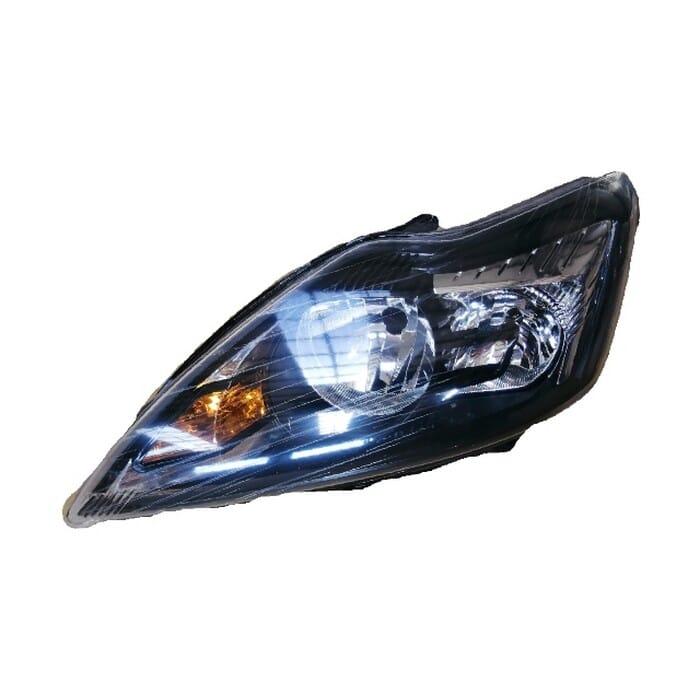 Ford Focus Mk 3 Headlight Black Inside Left