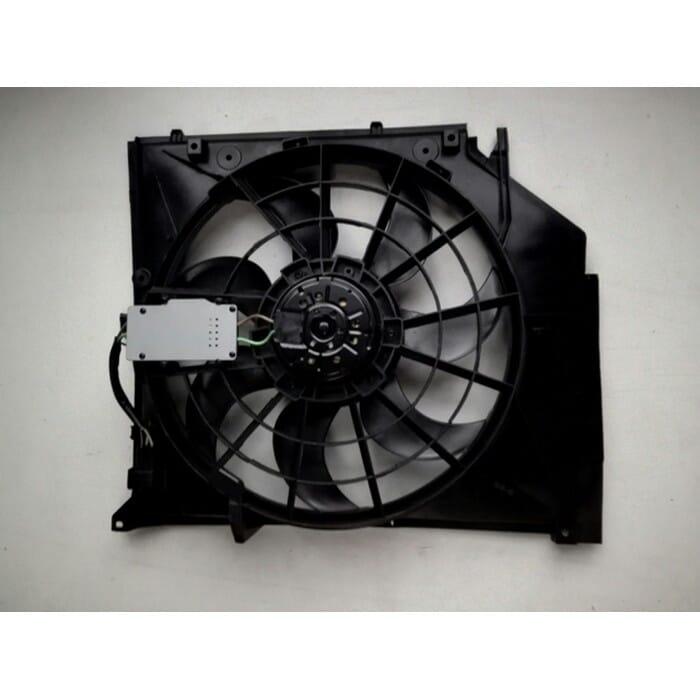 Bmw E46 1.8, 2l Radiator Fan Takes Sensor Box
