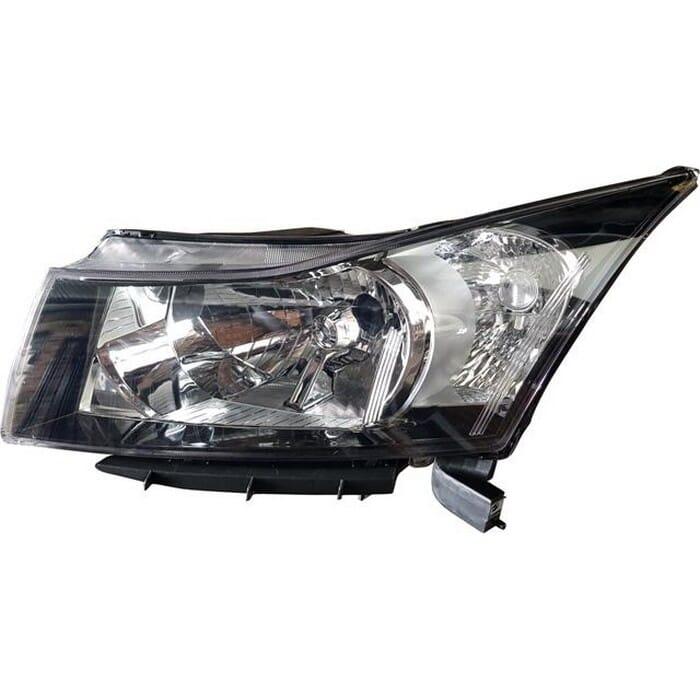 Chevrolet Cruze Sedan Headlight Manual Left